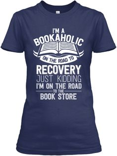 Teespring Bookaholic road to recovery