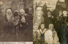 Originally published October 31st, 2013: Perhaps it's just the old, faded photos but it seems to us from looking at these vintage photographs that Hal...