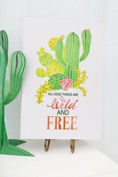 Wild & Free Cactus Party