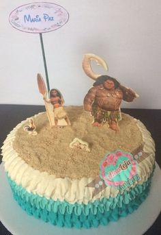 Torta Moana Realiza tu pedido por; WhatsApp: 3058556189, fijo 8374484  correo info@amaleju.com.co Síguenos en Twitter: @amaleju / Instagram: AmaLeju Cupcakes, Moana, Twitter, Desserts, Instagram, Food, Themed Cakes, Meet, Party