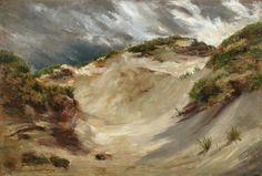 Walter Leistikow Dunes à Rügen Painting Words, Landscape Paintings, Folk Art, Modern Art, Poster, Beautiful, Design, Paint, Sailors