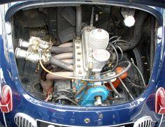 Renault 4CV Type Le Mans - Moteur