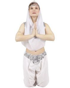 How to Make An Easy Genie Costume