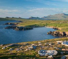 Brandon Mountain and the Dingle Peninsula from Clogher Head, County Kerry, Ireland -- IrishCentral.com