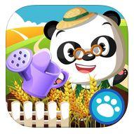 Kun jij Dr. Panda helpen met zijn moestuin? Deze app bevat naast alle stappen van zaaien tot en met oogsten ook twee leuke spellen.