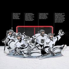 Save strategies by Jonathan Quick - Hockey Goalie