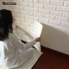 3D adesivos de parede parede de tijolo padrão de auto-adesivo papel de parede quarto sala decorativo à prova d' água anti-colisão
