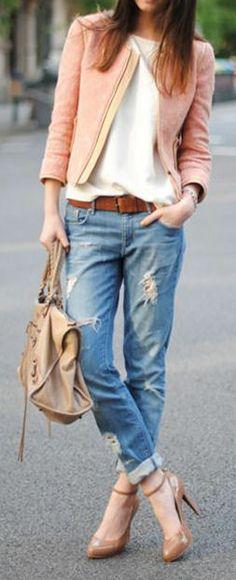 Boyfriend Jeans & Heels <3