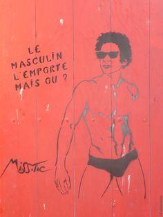 #MissTic Street Art Arles  Rue Dieudonne