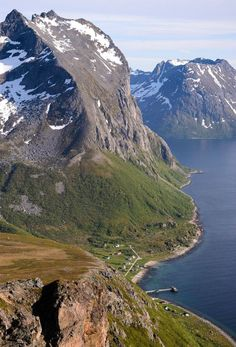 Hamlet of Rekvik, Northern-Norway