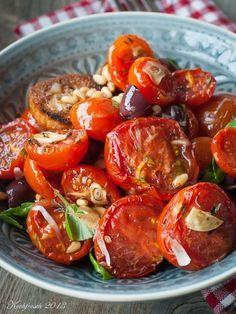 Tomatensalat aus dem Ofen