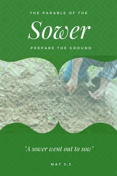 Prepare the ground for the Good Seed in your heart and expect a harvest. Personal Development, Harvest, Reading, Heart, Reading Books, Career, Hearts