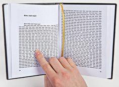 """""""Blah Blah Blah"""" book by Gogelmogel"""