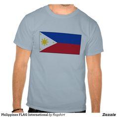 Philippines FLAG International Tees