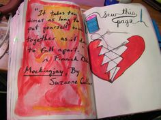 Wreck This Journal - Sew this page. ~Leslie D. Soule