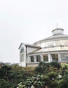 glasshouse (conservatory) at the copenhagen botanical garden