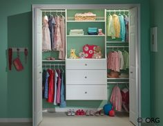 59 DIY Clever Closet Design Organization Ideas Trending Right Now - Kid Closet, Closet Bedroom, Kids Bedroom, Closet Ideas, Closet Dresser, Kids Rooms, Shoe Closet, Baby Dresser, Closet Drawers