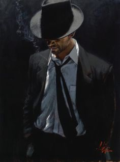 I may have found my new favorite, modern painter...Fabian Perez