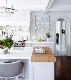30 Kitchens That Dare To Bare All With Open Shelves | House & Home