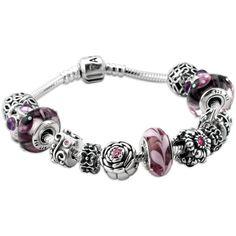Pandora Jewelry and Pandora Charms! via Polyvore