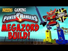 Scrap Mechanic - Power Rangers Megazord Build! - YouTube