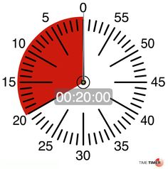 Time Timer software times hours, minutes, or even seconds. timetimer.com