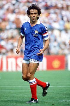 Legends Football, Football Icon, Retro Football, World Football, Vintage Football, Football Jerseys, Michel Platini, Football Images, Football Pictures