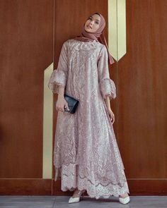 Kebaya Modern Hijab, Model Kebaya Modern, Kebaya Hijab, Kebaya Dress, Dress Pesta, Model Kebaya Muslim, Dress Brokat Muslim, Dress Brokat Modern, Muslim Dress