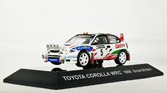 CM/'s 1//64 Rally Car Collection SS.6 Toyota Corolla WRC No.5 Catalunya 1998