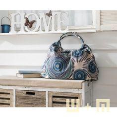 Sommer-Tasche, Henkel, Stoff, Summer-Bag