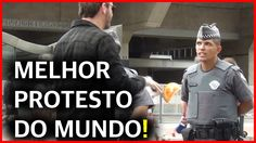 O MELHOR PROTESTO DO MUNDO !