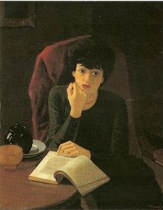 La tasse de thé by André Derain (1880-1954) - I like how the girl is lost in her thoughts. Her tea is going to get cold for sure.