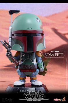 Hot Toys - COSB307 - Star Wars - Boba Fett Cosbaby Bobble-Head