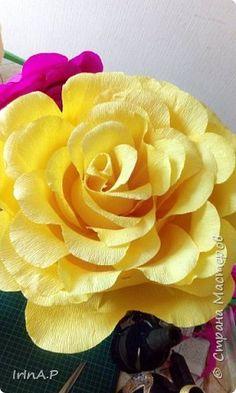 Всем здравствуйте! На днях пришлось мне сделать розы большого размера 50-60см в…