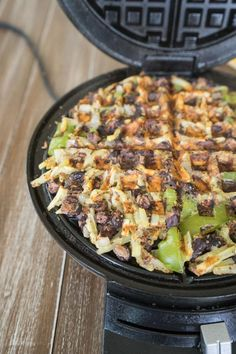 Waffle Hash Browns (tweak this a bit)