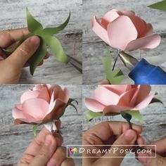 Excellent diy flowers detail are offered on our web pages. Read more and you wont be sorry you did. Paper Flowers Craft, Paper Roses, Flower Crafts, Diy Flowers, Paper Crafts, Toilet Paper Flowers, Paper Flower Centerpieces, Paper Butterflies, Rose Tutorial