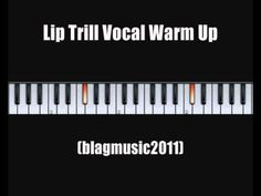 Lip Trills Vocal Warm Up Exercise - YouTube