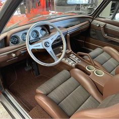 trimmed the interior of this built bmw owned by thehogring handmade autoupholstery upholstery sewing stitching carinterior hotrod leatherwork leathercraft streetrod leather Automotive Upholstery, Car Upholstery, Automotive Decor, Air Compressor Tank, Bmw E24, Automotive Locksmith, Windshield Washer, Camper Interior, Car Gadgets