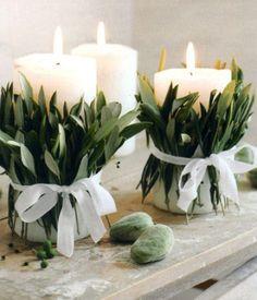 Greenery wedding decor. Pinterest wedding trends 2017