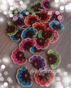Crochet Flowers, Crochet Lace, Free Crochet, Crochet Bracelet, Crochet Earrings, Necklaces With Meaning, Crochet Square Patterns, Crochet Decoration, Crafts For Girls