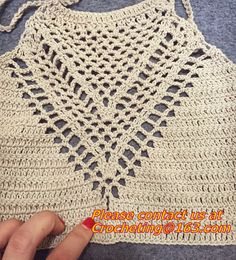 Sexy Women Crochet Crop Top Summer Camisole Camis Sexy Hollow Out V-Neck Crochet Bustier