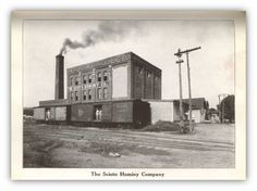 In 1909, The Scioto Hominy Company was established at Gay and 13th Streets. The company, formerly the Cereal Mills, produced breakfast foods and shipped them worldwide. Markets included Liverpool, England, Copenhagen and other areas in Denmark. Trouble with machinery and finances led to the company's closing in 1911. In 1913, the Independent Hominy Plant opened at the same location. This company also provided feed for livestock. May 30, 1914, the plant was completely destroyed by fire.