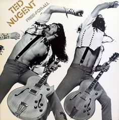 https://flic.kr/p/tnMmw9 | Vintage LP Vinyl Record Collection - Free-For-All Album By Ted Nugent, Hard Rock, Catalog Number PE 34121, Epic Records, Copyright 1976 | Tracklist:  Free For All  3:21   Dog Eat Dog  4:04   Writing On The Wall  7:10   Turn It Up  3:36   Street Rats  3:36   Together  5:53   Light My Way  3:01   Hammerdown  4:08    Love You So I Told You A Lie  3:49