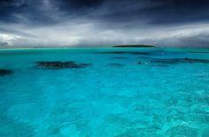 Aitutaki Lagoon by Stefan Heinrich