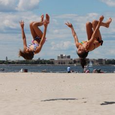 I wanna go to the beach just so i can tumble on it ;)