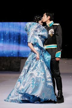 Korean couture designer Andre Kim