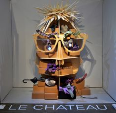 Le Chateau, 'Art of Display' Visual Merchandising Exhibition at Redefining Design 2014. The School of Fashion at Seneca College. #RedefiningDesign