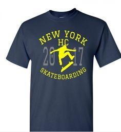 Camiseta Halfcab Ney York Skateboading. www.halfcab.com.br