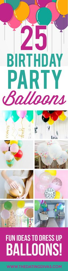 personal celebration and personal celebration planning 25 Creative Birthday Party Balloon Ideas. Traditions D'anniversaire, Birthday Traditions, 25th Birthday Parties, Birthday Party Decorations, Birthday Ideas, 40 Birthday, Birthday Recipes, Husband Birthday, Sister Birthday