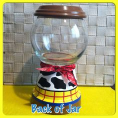 Woody Inspired Candy Jar